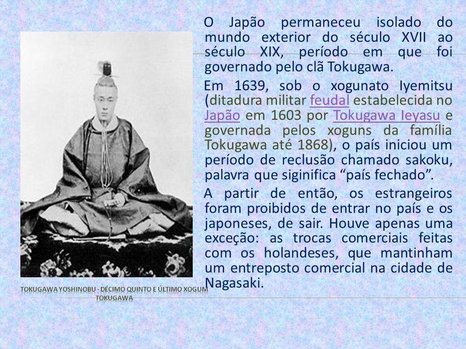 Tokugawa Yoshinobu - décimo quinto e último xogum Tokugawa