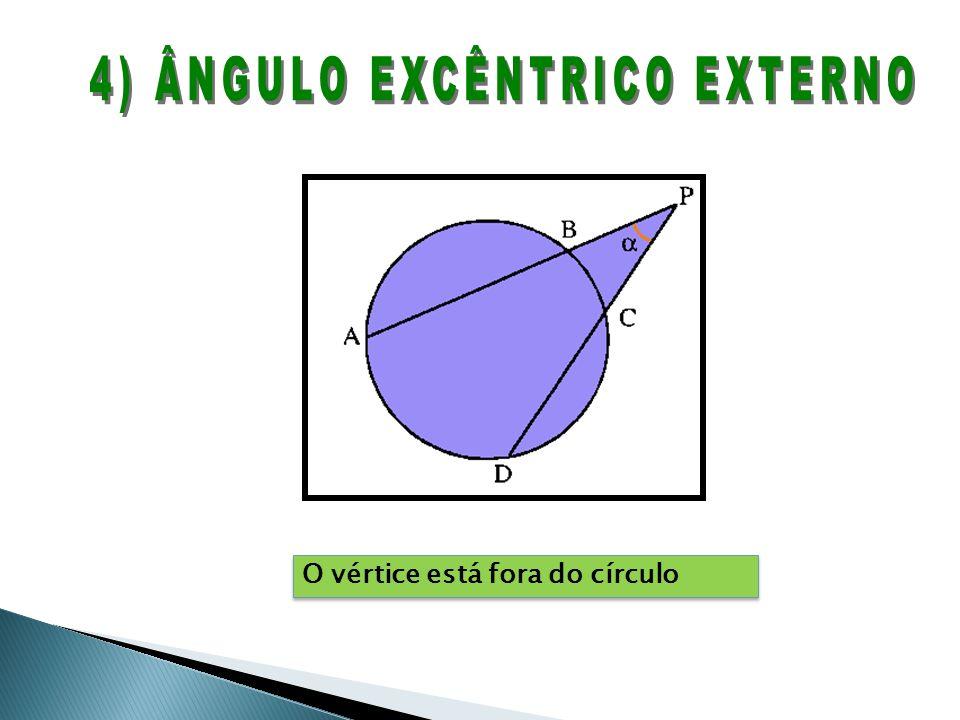 4) ÂNGULO EXCÊNTRICO EXTERNO