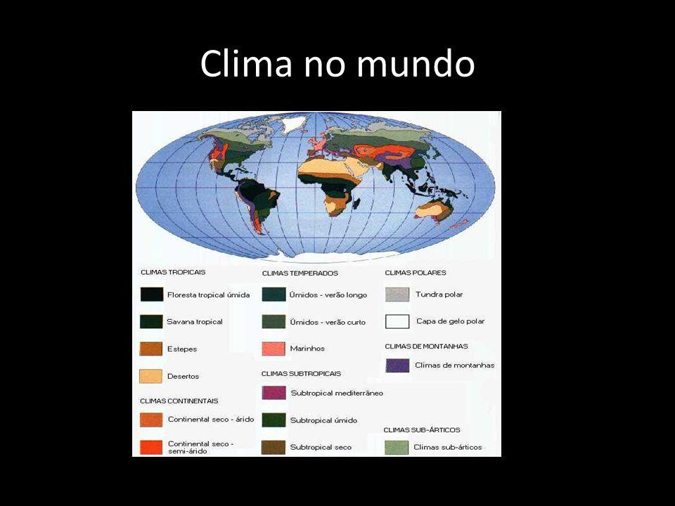 Clima no mundo
