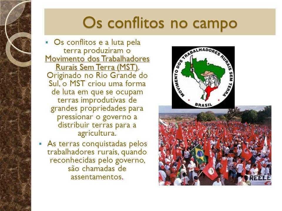 Os conflitos no campo