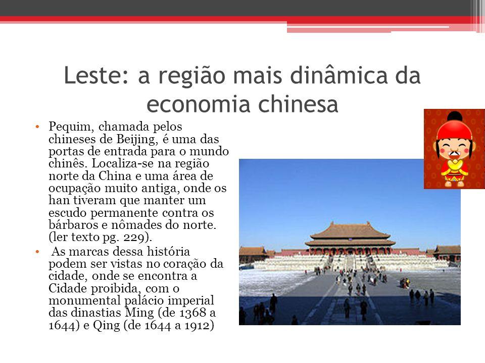 Leste: a região mais dinâmica da economia chinesa