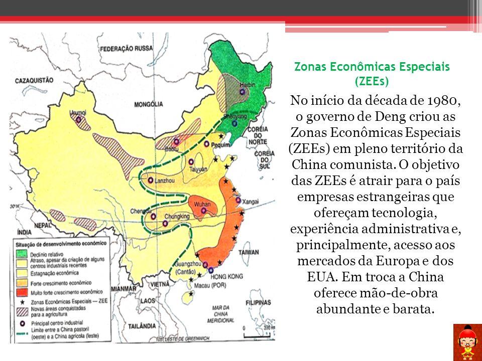 Zonas Econômicas Especiais (ZEEs)