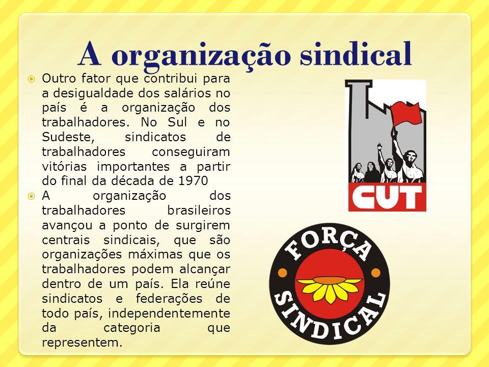 A organização sindical