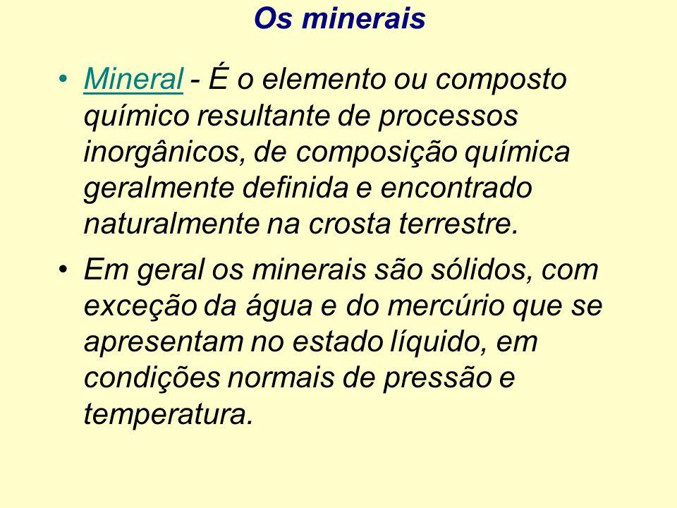 Os minerais