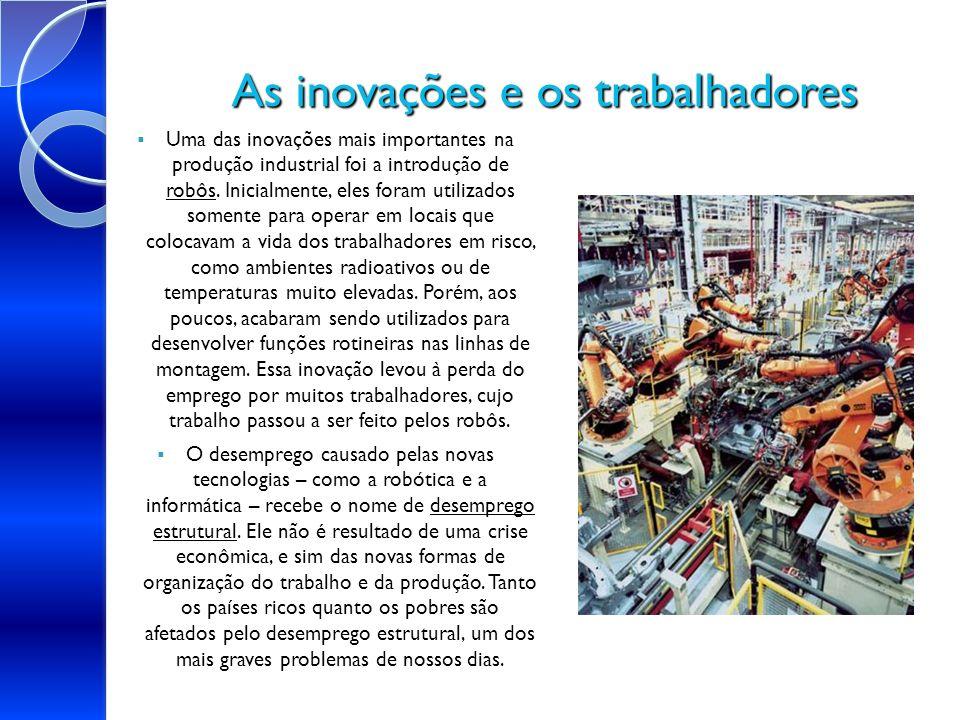 As inovações e os trabalhadores
