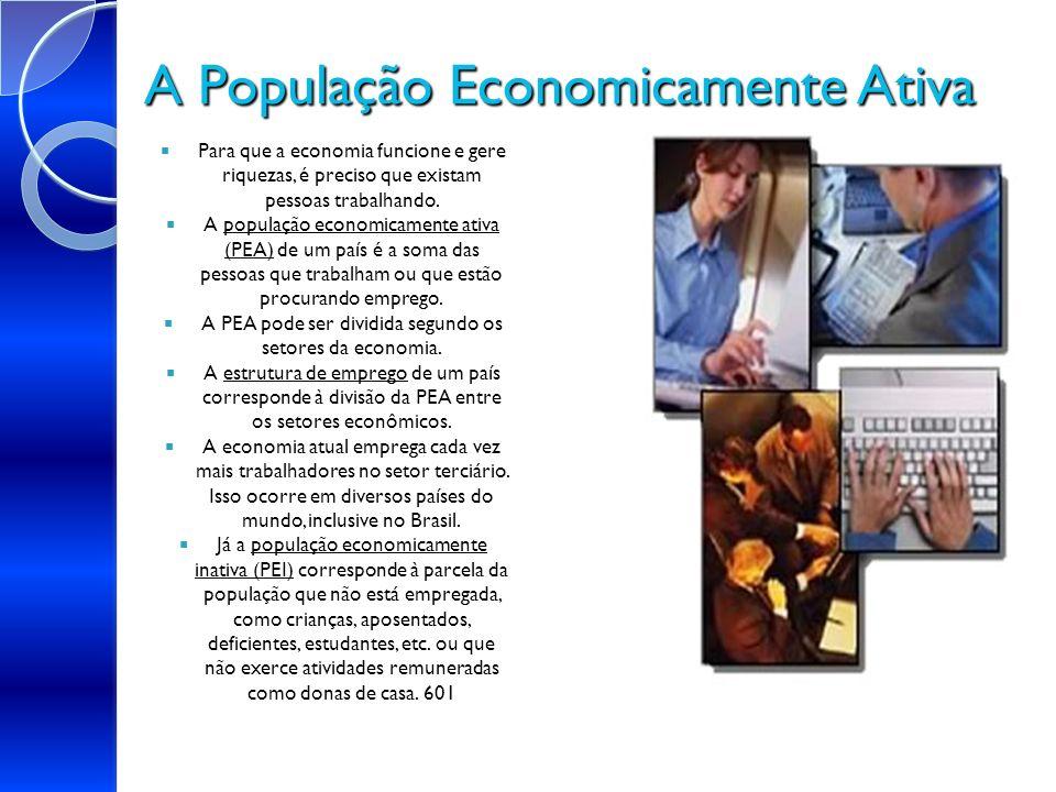 A População Economicamente Ativa