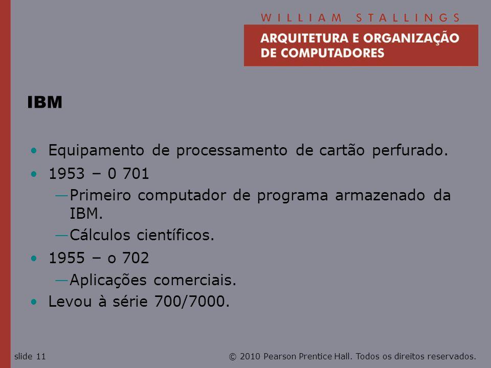 IBM Equipamento de processamento de cartão perfurado. 1953 – 0 701