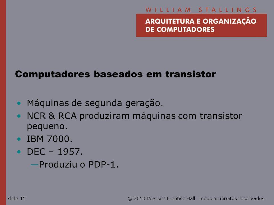 Computadores baseados em transistor