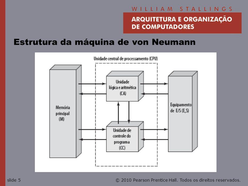 Estrutura da máquina de von Neumann