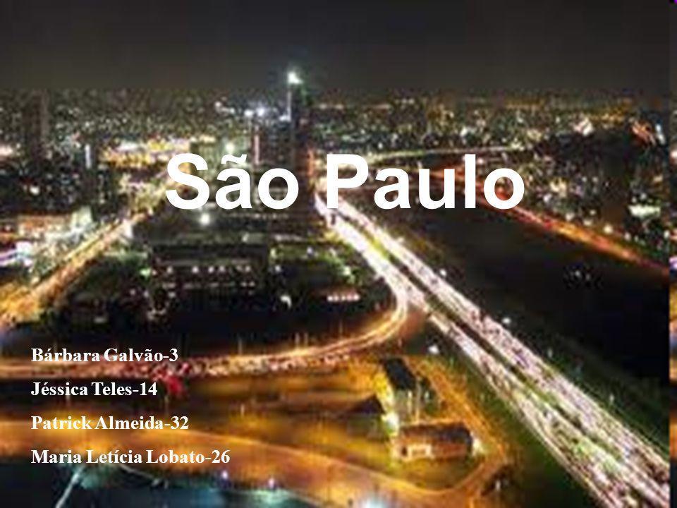 São Paulo Bárbara Galvão-3 Jéssica Teles-14 Patrick Almeida-32