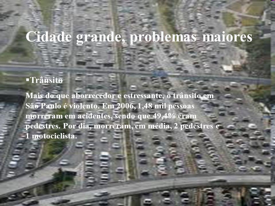 Cidade grande, problemas maiores