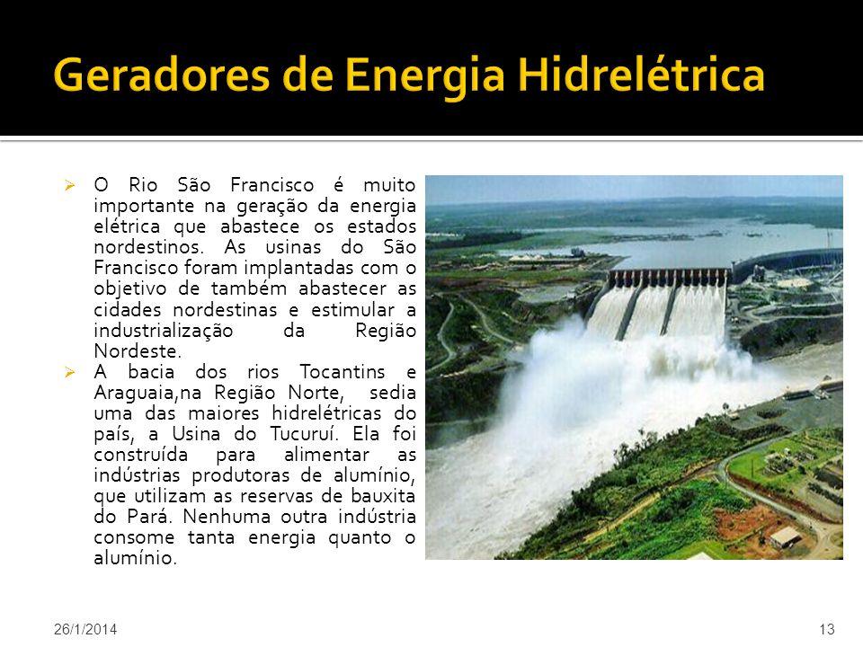 Geradores de Energia Hidrelétrica