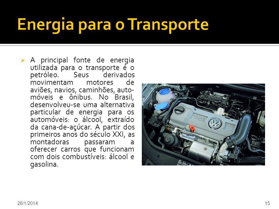 Energia para o Transporte