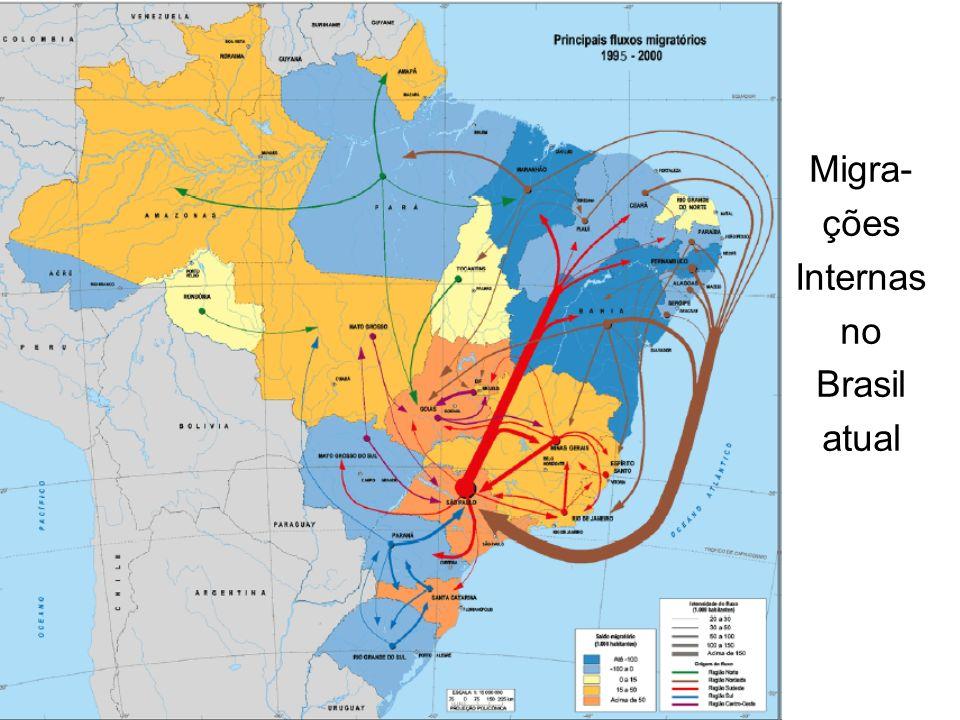 Migra- ções Internas no Brasil atual