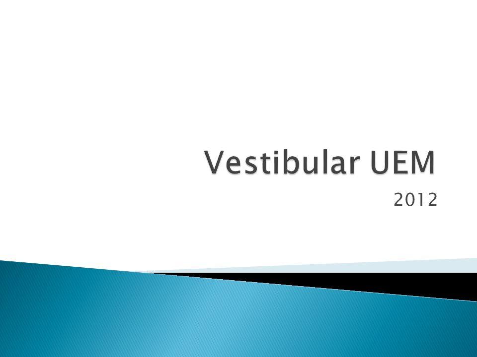 Vestibular UEM 2012