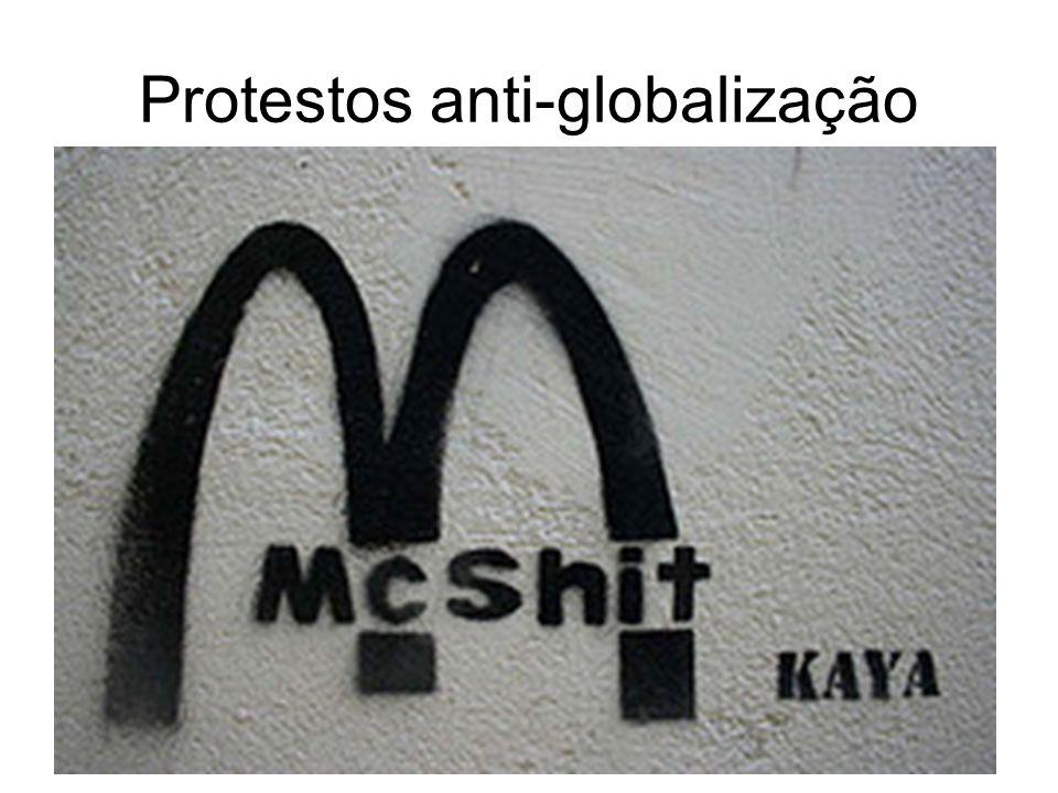 Protestos anti-globalização