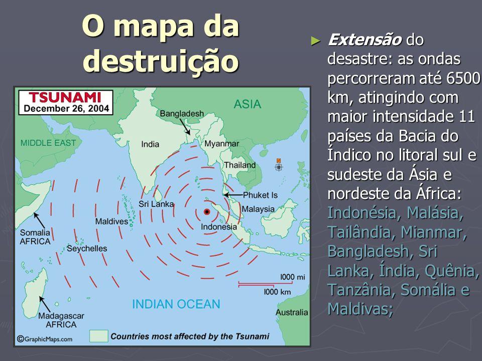 O mapa da destruição