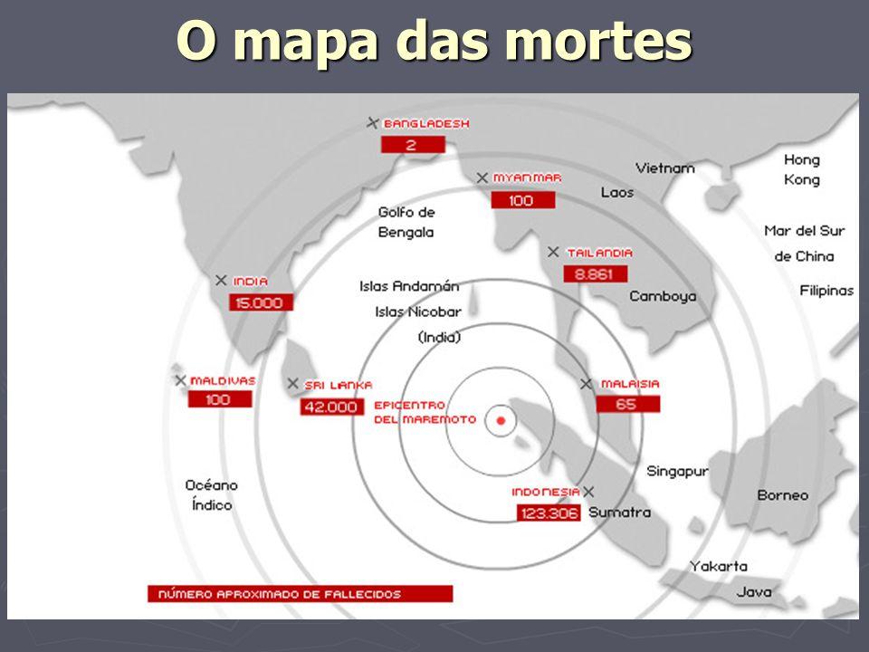 O mapa das mortes