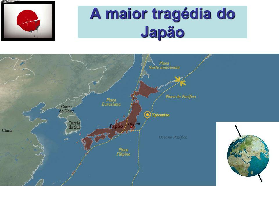 A maior tragédia do Japão