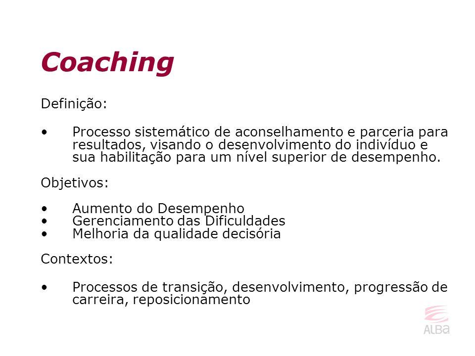 Coaching Definição: