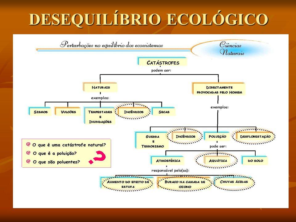 DESEQUILÍBRIO ECOLÓGICO