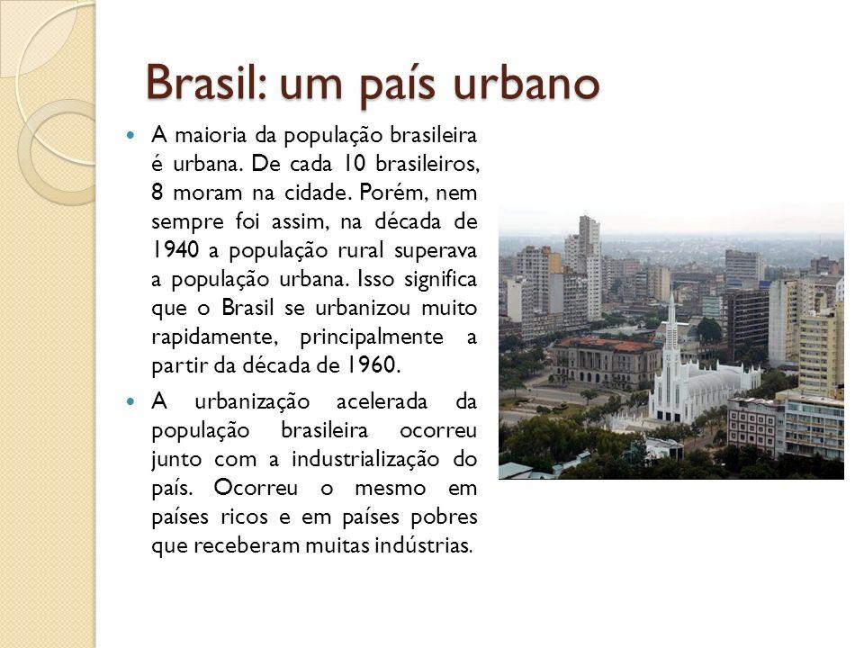 Brasil: um país urbano