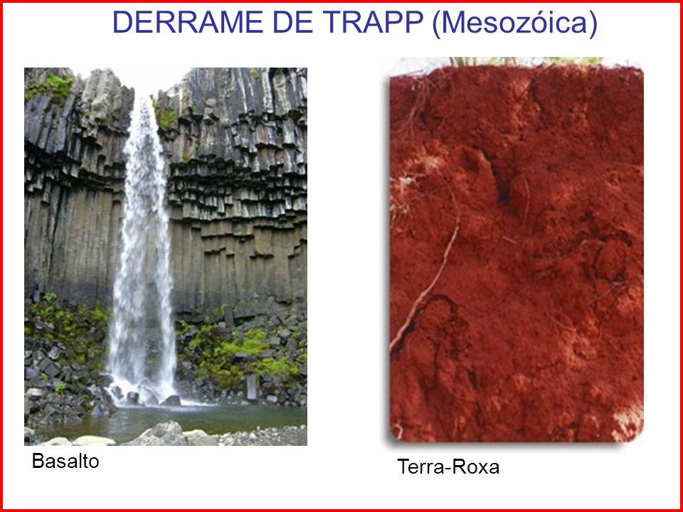 DERRAME DE TRAPP (Mesozóica)
