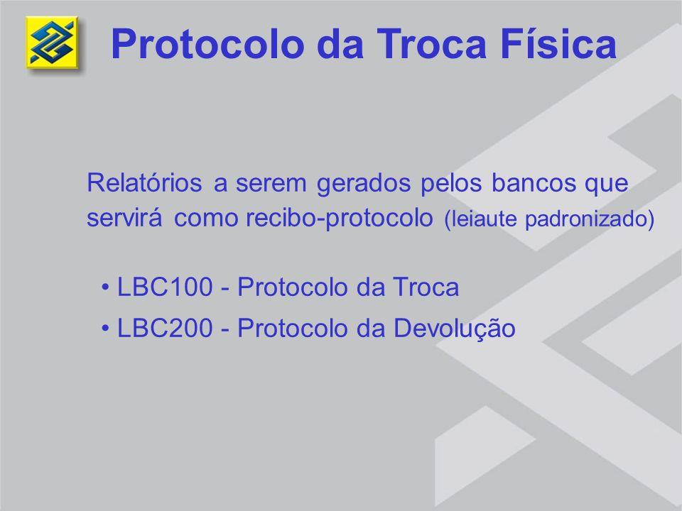 Protocolo da Troca Física
