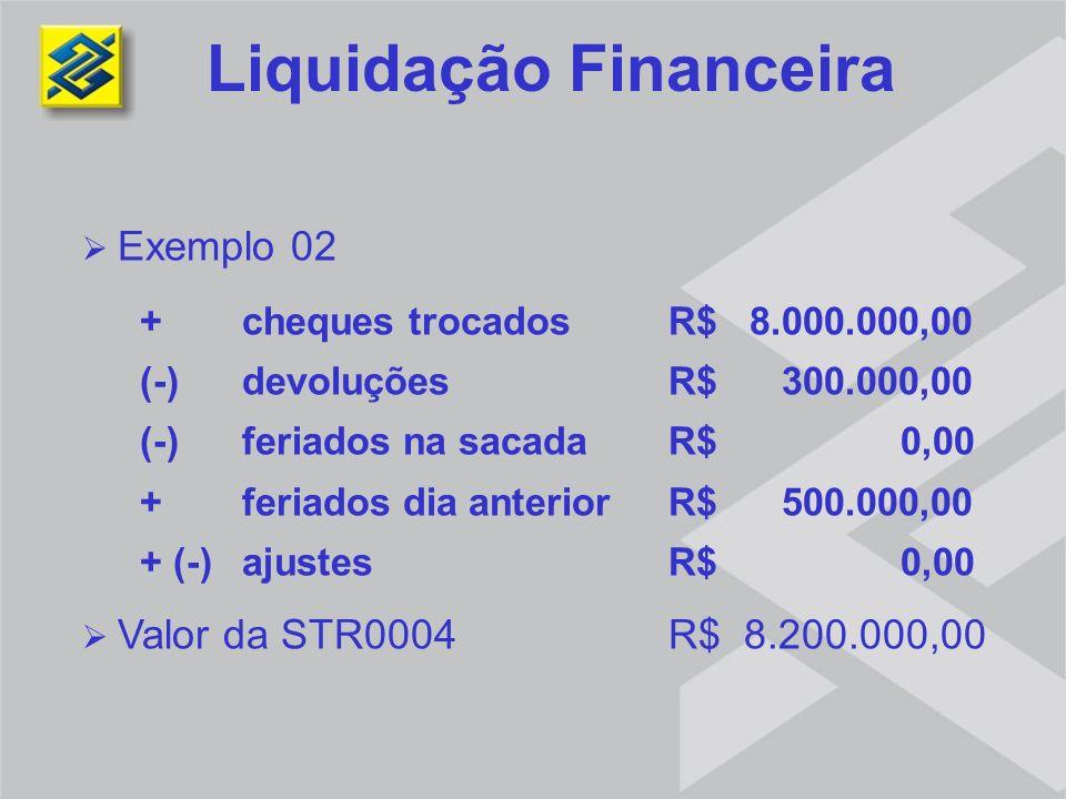 Liquidação Financeira