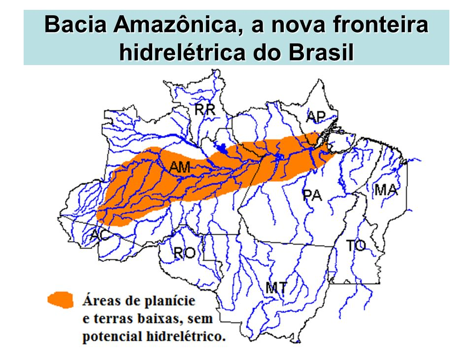 Bacia Amazônica, a nova fronteira hidrelétrica do Brasil