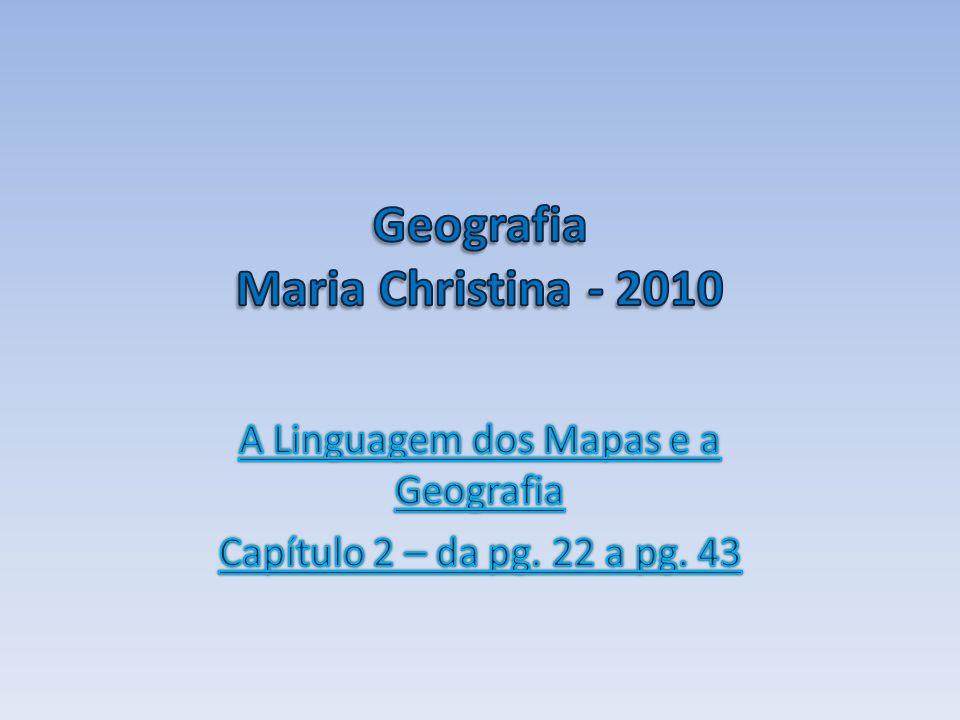 Geografia Maria Christina - 2010