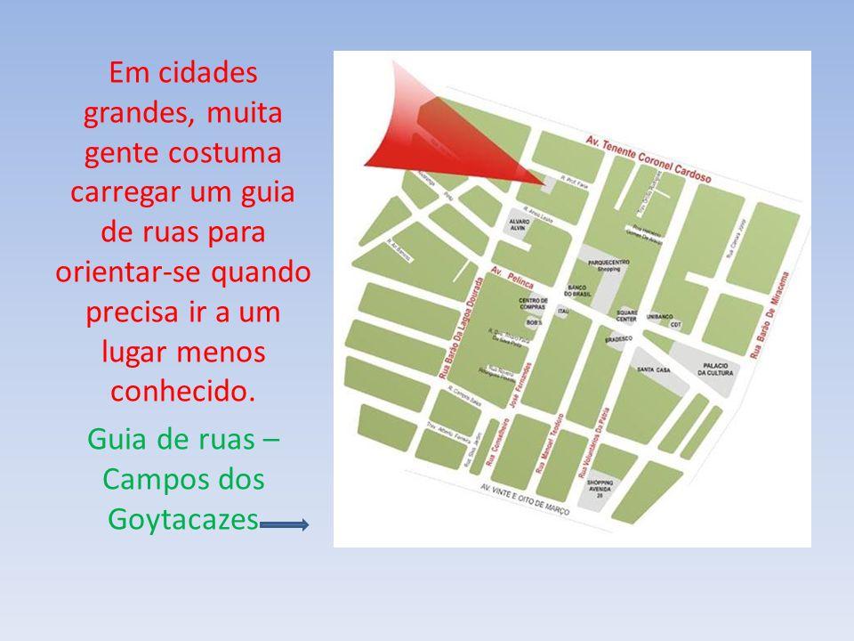 Guia de ruas – Campos dos Goytacazes