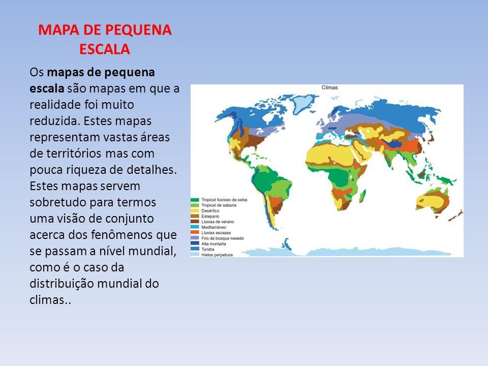 MAPA DE PEQUENA ESCALA