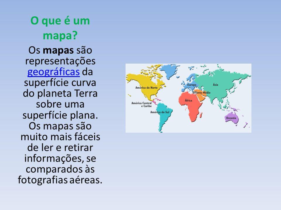 O que é um mapa