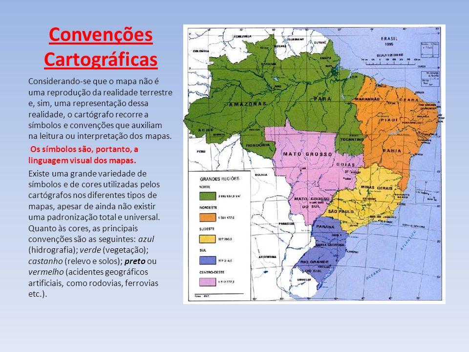 Convenções Cartográficas