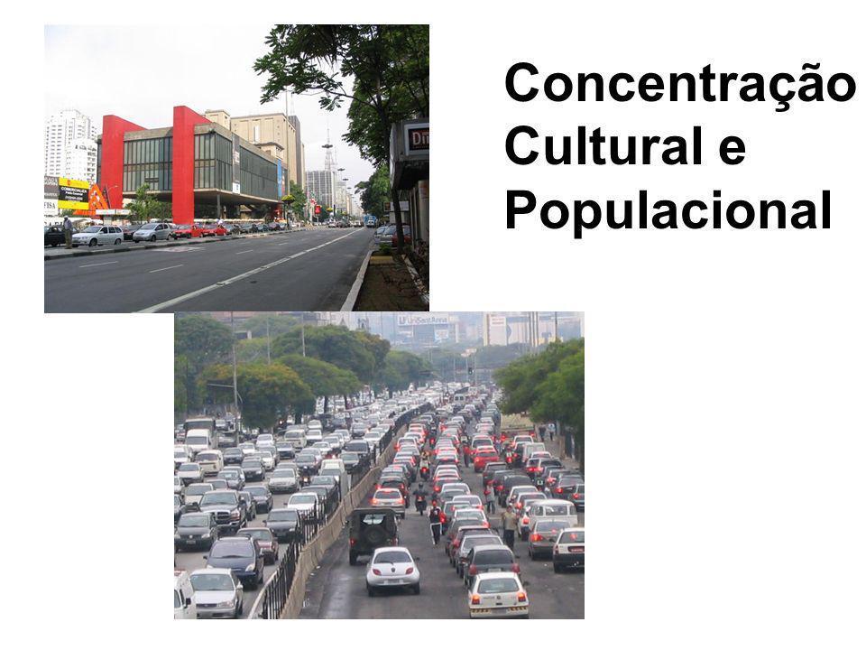 Concentração Cultural e Populacional