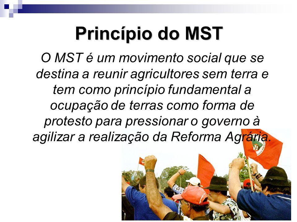 Princípio do MST