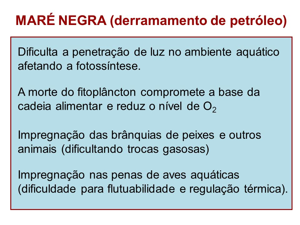 MARÉ NEGRA (derramamento de petróleo)