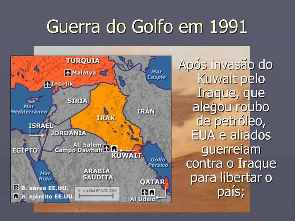 Guerra do Golfo em 1991
