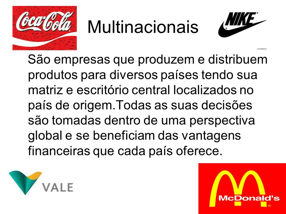 Multinacionais