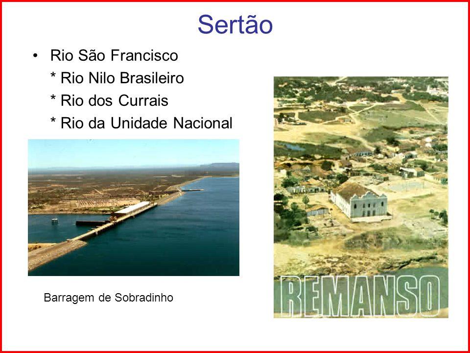 Sertão Rio São Francisco * Rio Nilo Brasileiro * Rio dos Currais