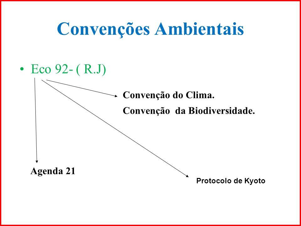 Convenções Ambientais