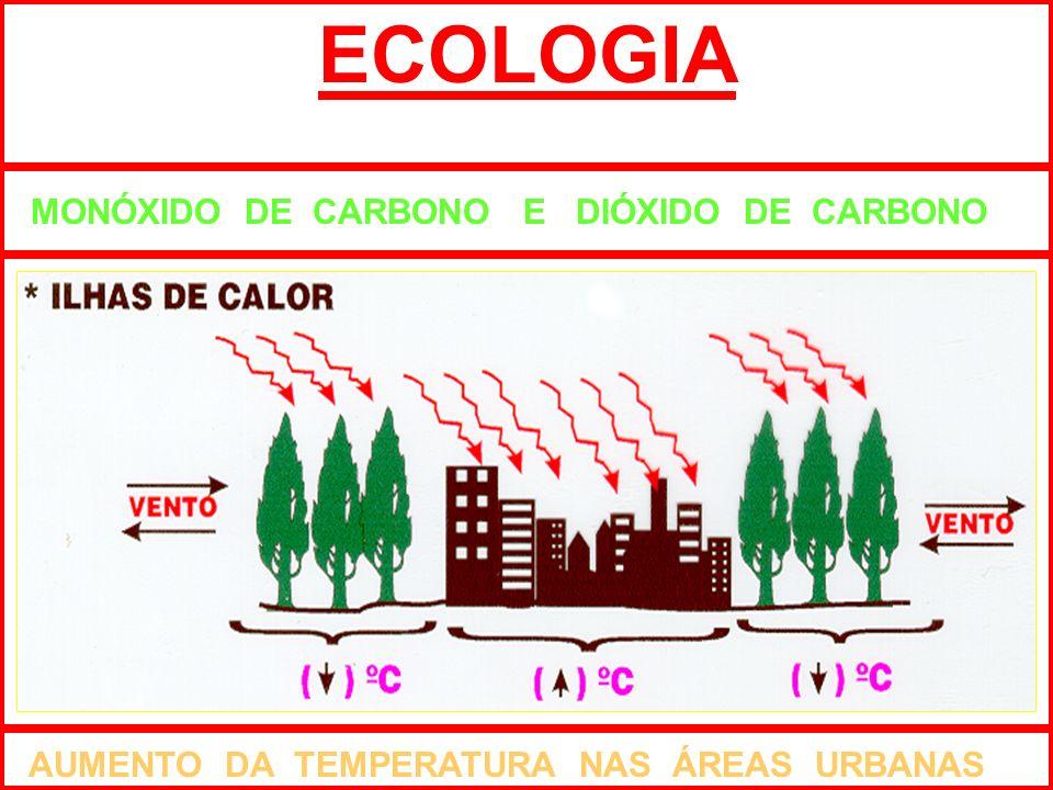 ECOLOGIA MONÓXIDO DE CARBONO E DIÓXIDO DE CARBONO