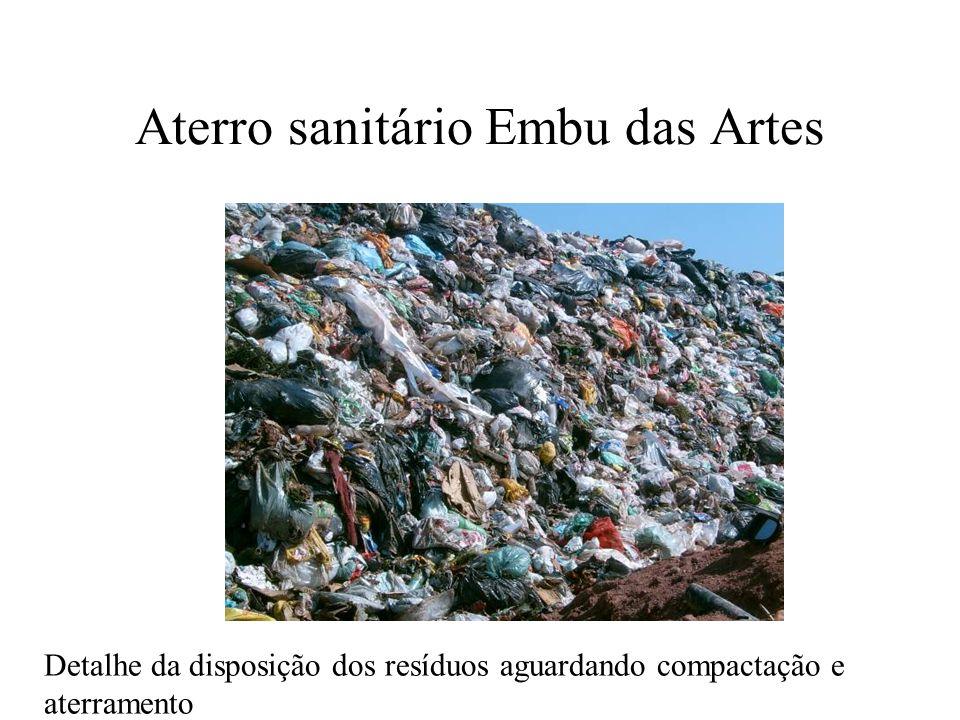 Aterro sanitário Embu das Artes