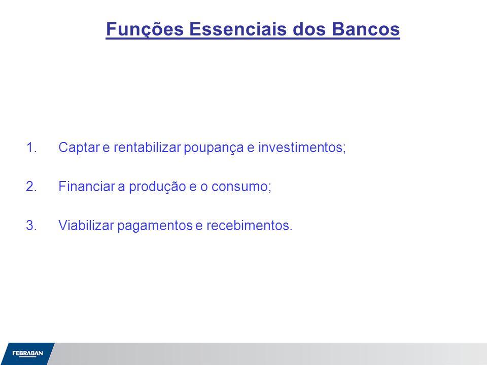 Funções Essenciais dos Bancos
