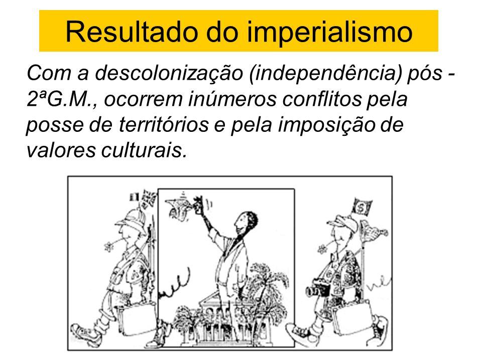 Resultado do imperialismo