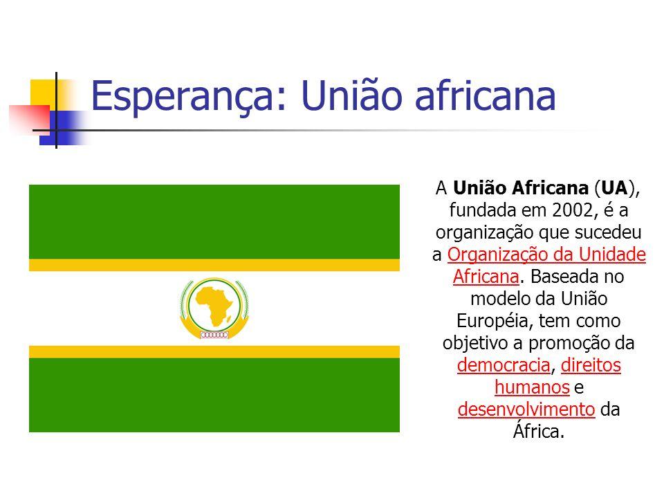 Esperança: União africana
