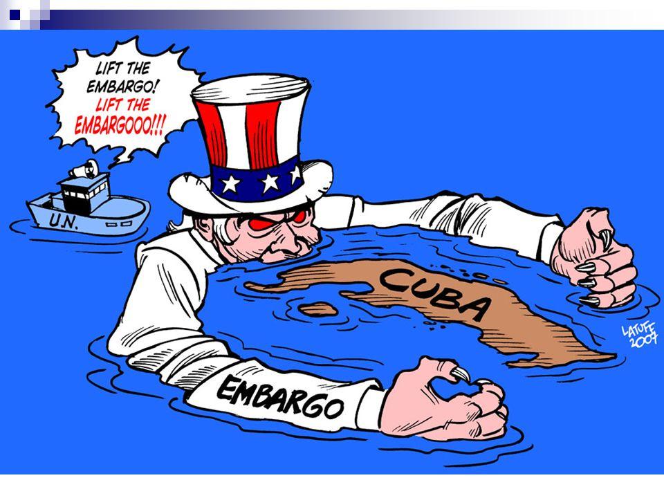 Conseqüências 1961: alinhamento com a URSS, adoção do marxismo-leninismo (socialismo) e conseqüente rompimento das relações diplomáticas com os EUA;