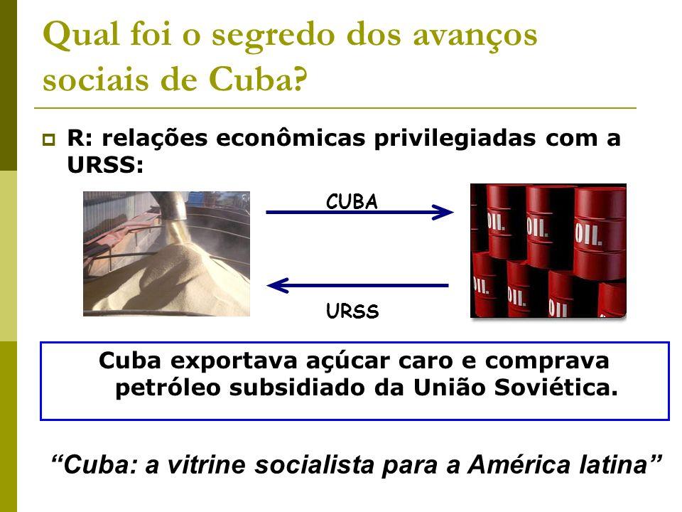 Qual foi o segredo dos avanços sociais de Cuba