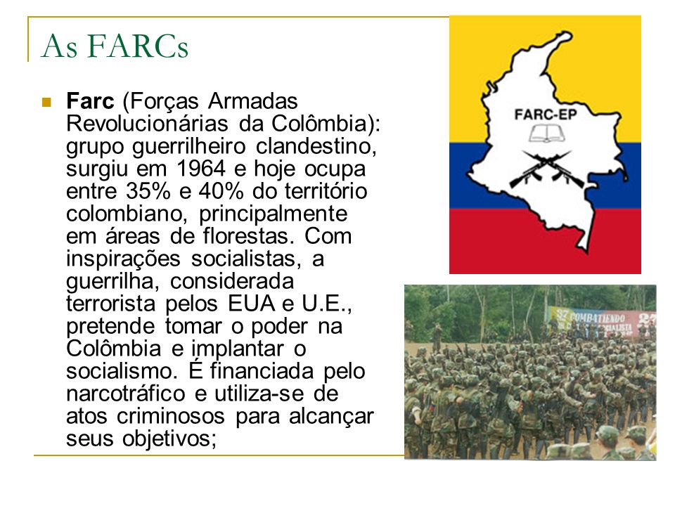 As FARCs